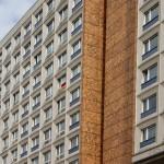 Berlin_Hochhaus-Fahne
