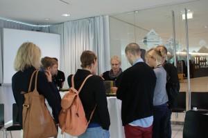 """Workshop """"Lebende Papiermusterbücher"""" im Rahmen der VLOW! 2012"""