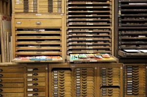 Druckladen des Gutenberg-Museums Mainz