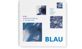 Ausstellungskatalog »BLAU«